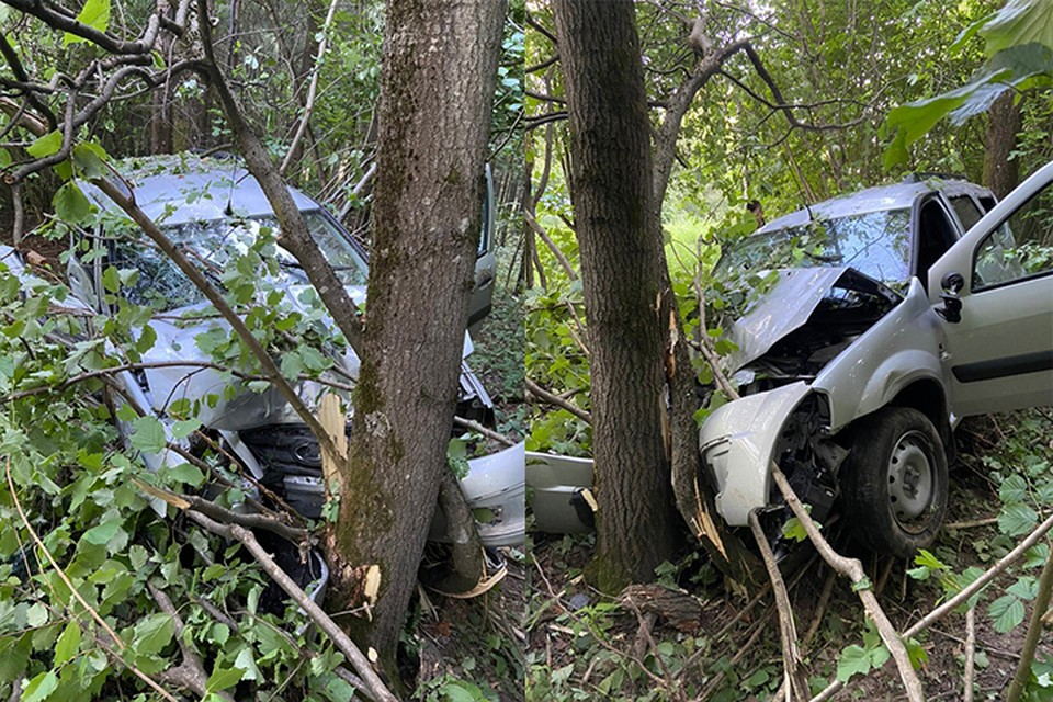 В ДТП пострадал 20-летний водитель Фото: УГИБДД России по Тверской области