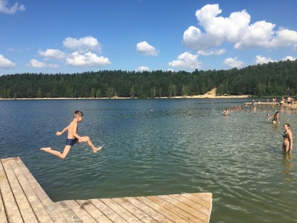 О безопасности на воде детям рассказали полицейские