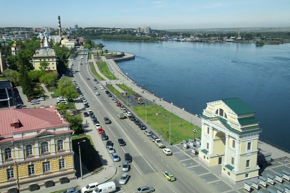 Погода в Иркутске: 12 июля в городе ветер до 10 м/с