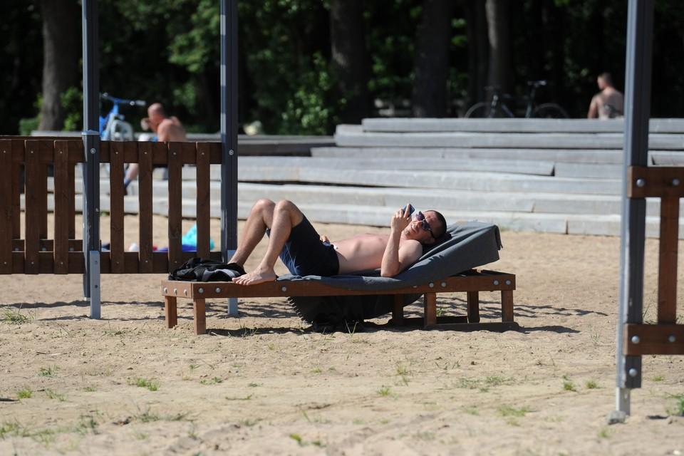 В Петербурге опять будет жарко.