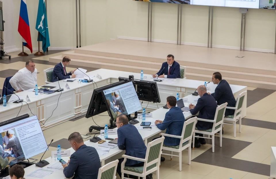 Губернатор Валерий Лимаренко провел совещание по анализу выполнения ключевых показателей эффективности работы правительства