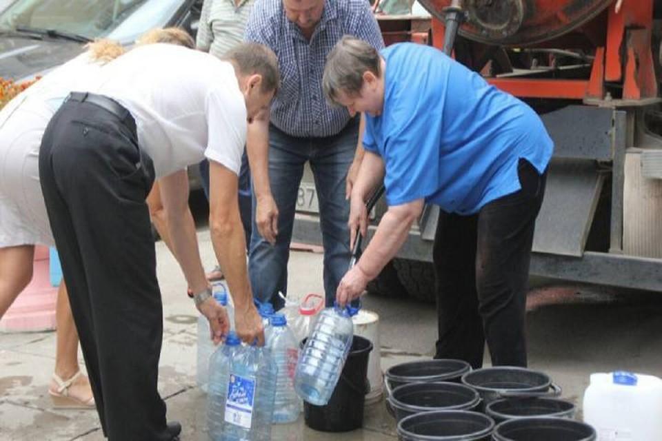 Восстановить подачу воды планируют к вечеру сегодняшнего дня: Фото: admkirov.ru