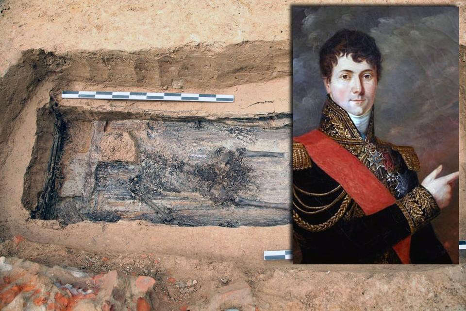 Гюден был ранен и скончался во время Смоленского сражения 19 августа 1812 года. Фото: Институт археологии РАН