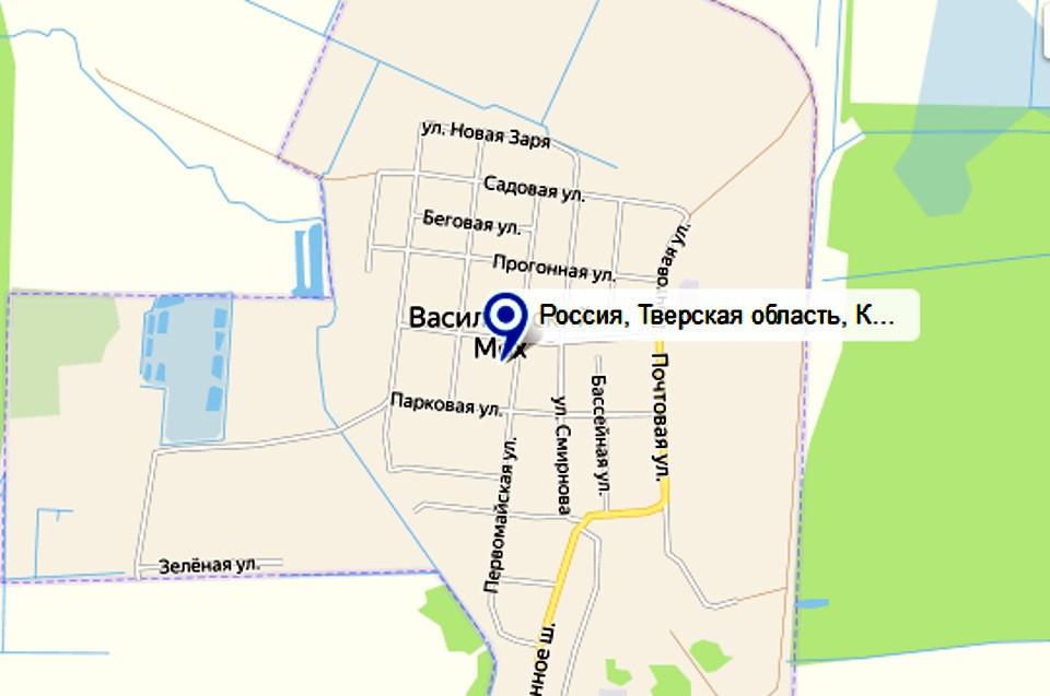 Поселок находится в 21 км от Твери. Фото: гугл карты/скрин