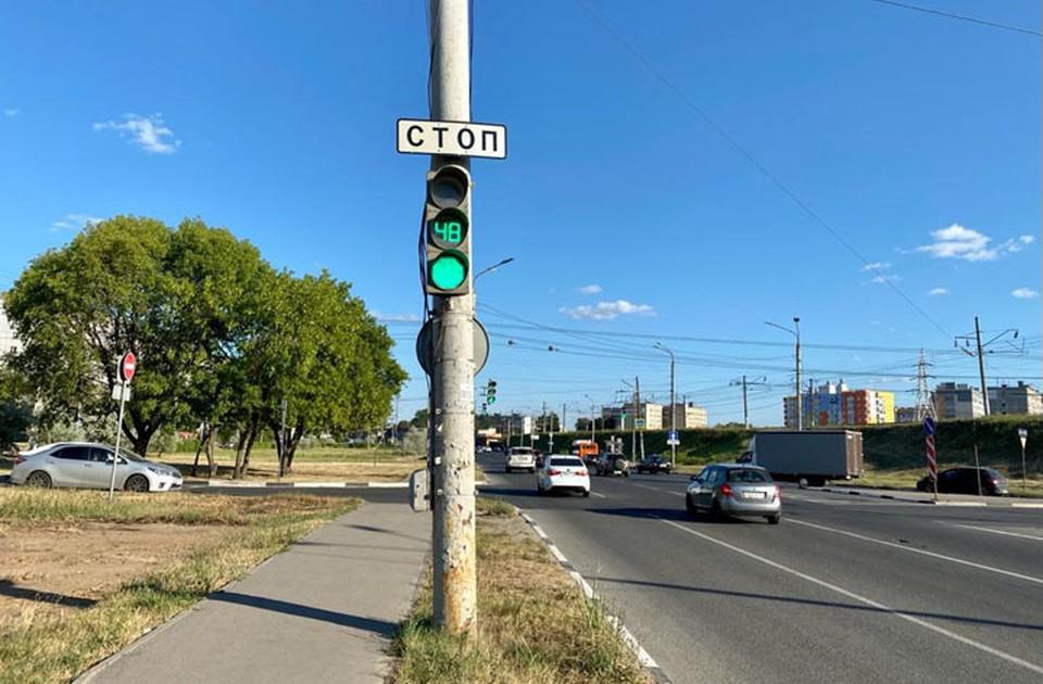 Пробка на пересечении Акимова и Пролетарской сократилась в пять раз.