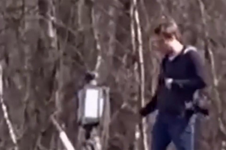 Сотрудник американской дипмиссии похитил стрелочный указатель на российской железной дороге