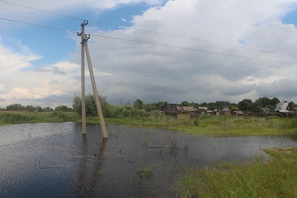 В этот раз паводок удалось пройти с меньшим ущербом
