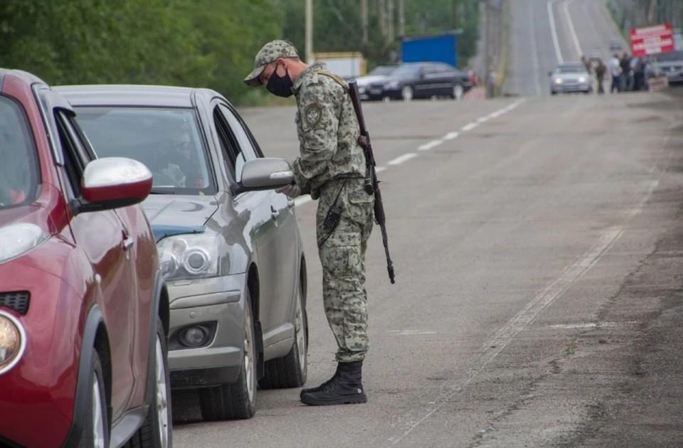 Гуманитарный коридор на КПП «Еленовка» работает по понедельникам и пятницам