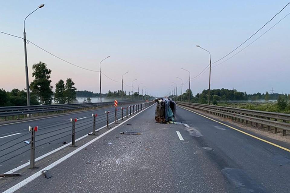 В ДТП пострадали мужчина и женщина Фото: УГИБДД России по Тверской области