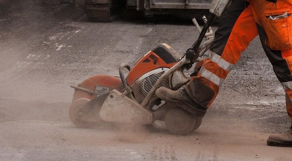 Дорогу перекрыли для ремонтных работ на теплосетях