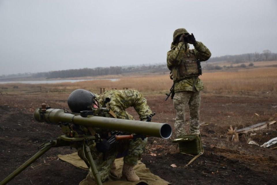 ВСУ нанесли минометный удар по ДНР. Фото: штаб ООС