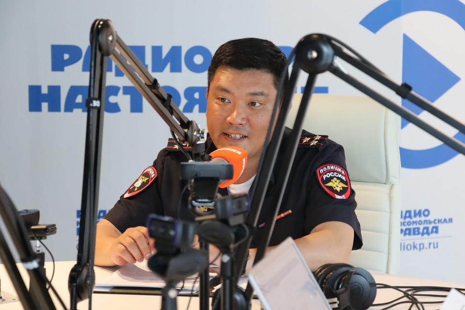 и.о. начальника УГИБДД по Сахалинской области Игорь Нам