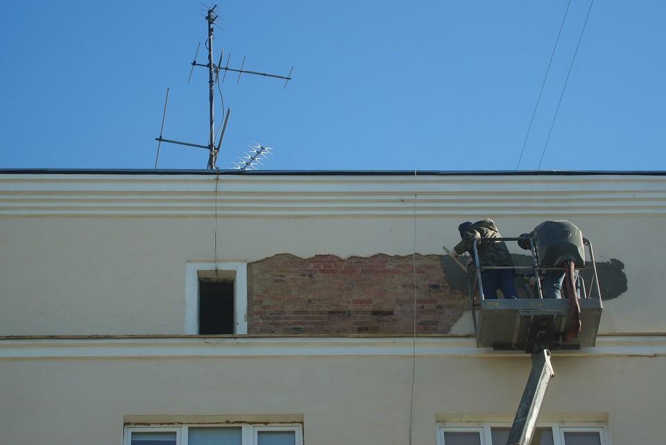 В Нижнем Тагиле продолжается капремонт фасадов, подвалов и инженерных коммуникаций