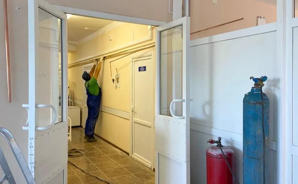 В Киреевске Тульской области откроется новый инфекционный госпиталь