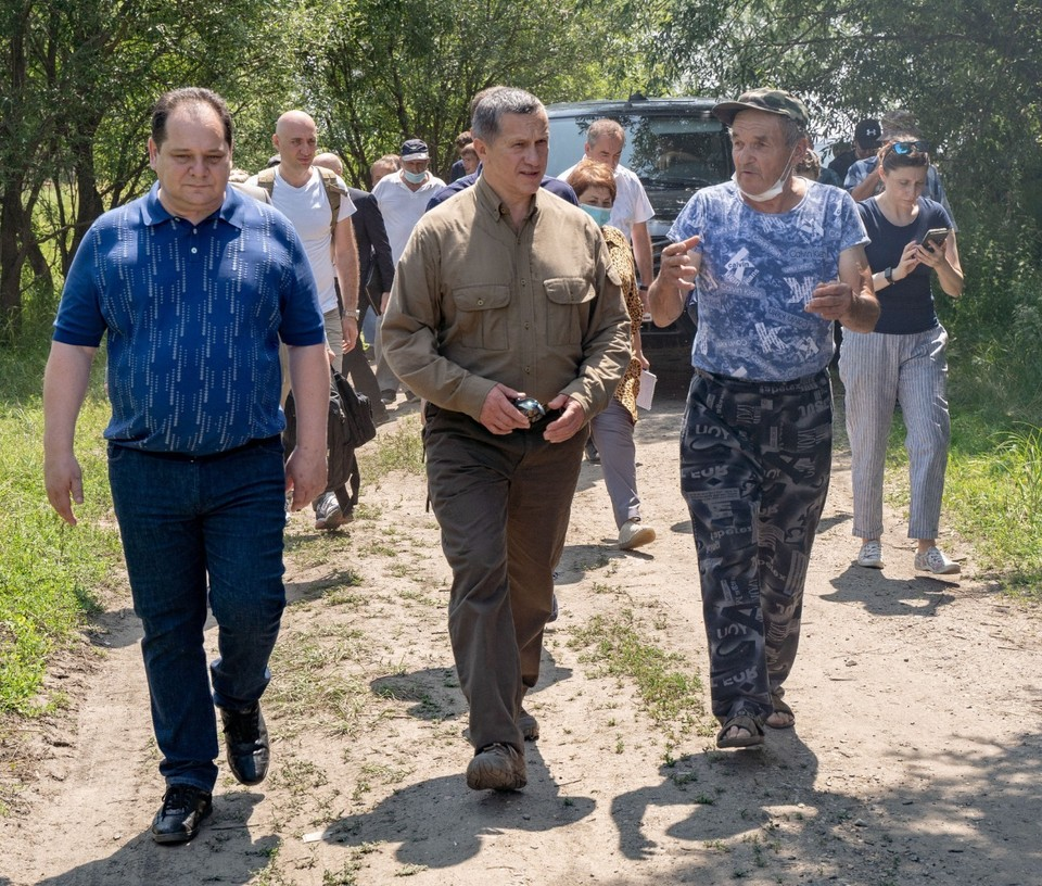 Юрий Трутнев в рабочей поездке в Еврейскую автономную область