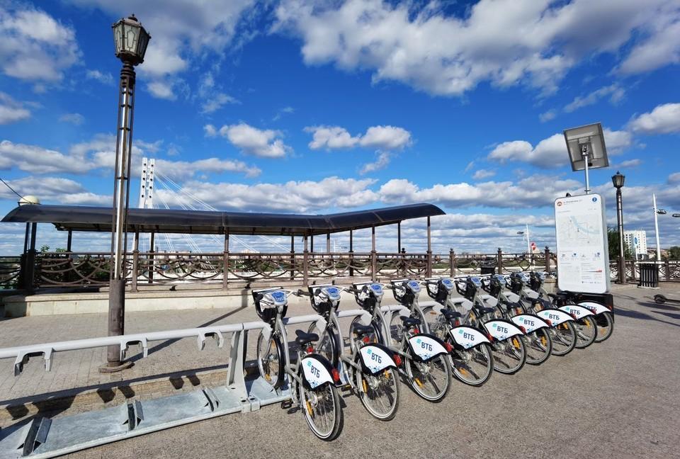 ВТБ: велопрокат «Велобайк» запускается в Тюмени. Фото - ВТБ.