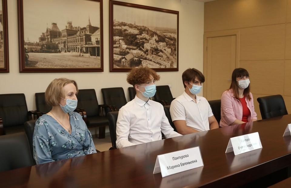 Два одиннадцатиклассника спасли мальчика от похищения в Нижнем Новгороде Фото:пресс-служба администрации Нижнего Новгорода