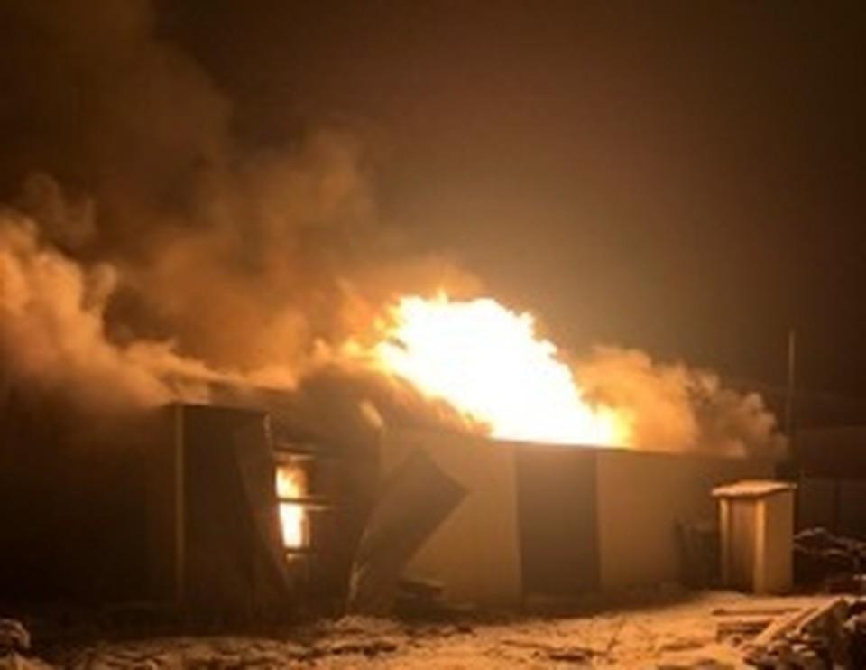 Югорский предприниматель ответит за смерть работников на пожаре Фото: СУ СК РФ по ХМАО-Югре