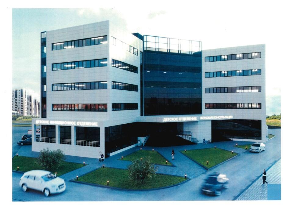 Клиника будет отвечать всем современным требованиям ФОТО: Минстрой
