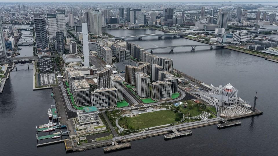 Так выглядит олимпийская деревня. Фото: olympic.ru