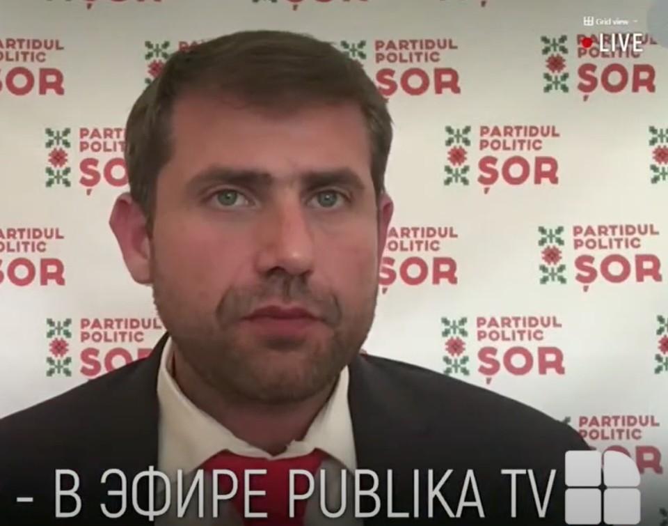 "Лидер партии ""ШОР"" Илан Шор. Фото: partidulsor.md"