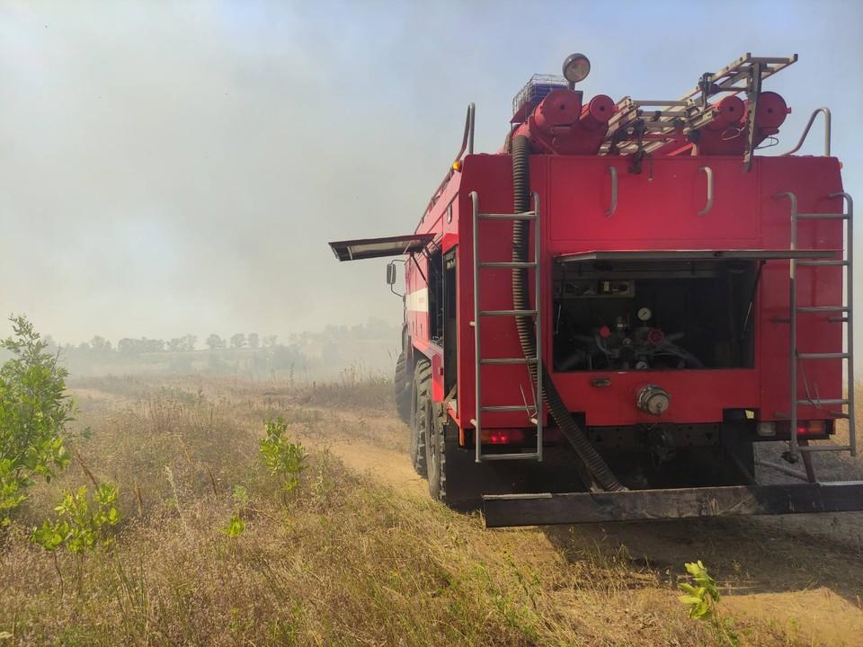 В нашем регионе действует запрет на разведение костров, сжигание мусора, стерни.