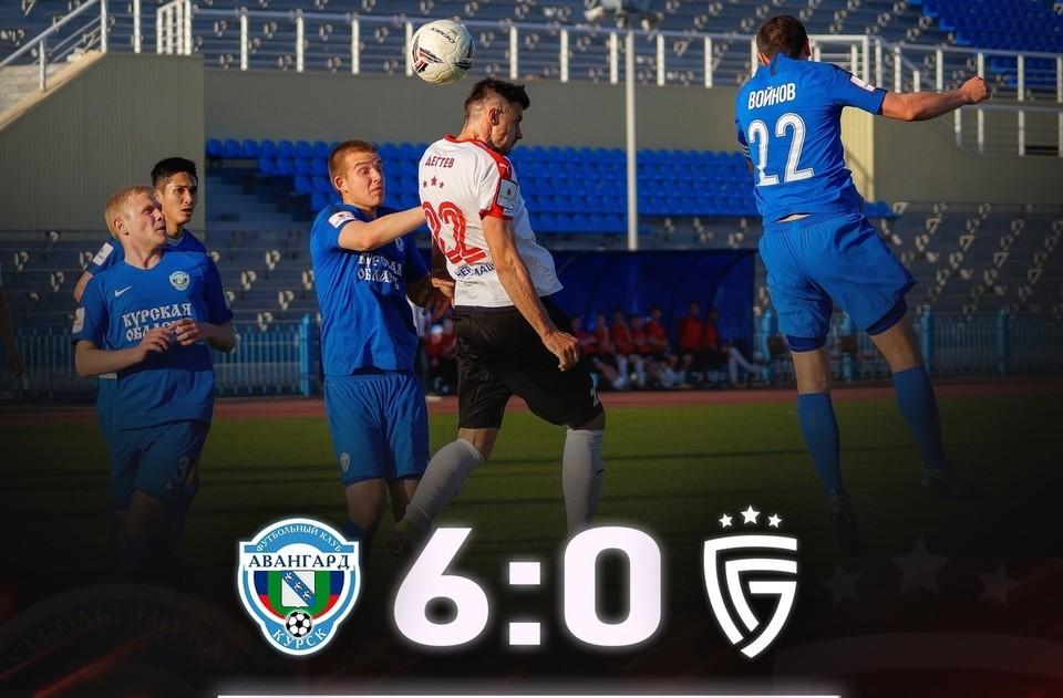 Это первое столь крупное поражение белгородцев с сентября 2019 года. Фото fcsalyut.ru.