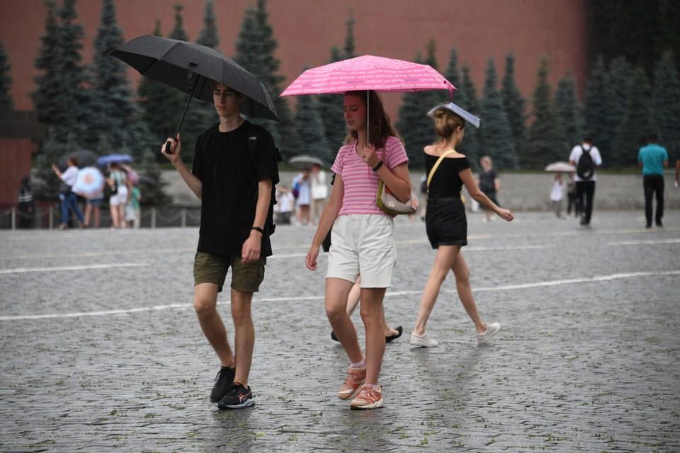 Уже завтра Москву ожидает снова солнечный день с температурой до +32 градусов.