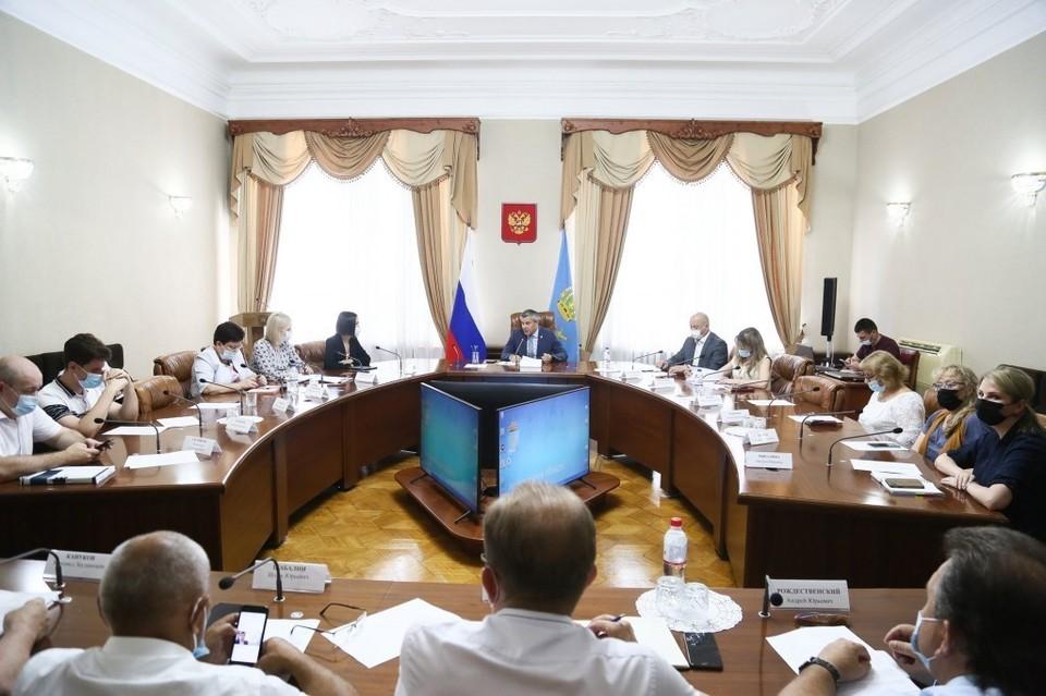 В Астрахани обсудили вопросы формирования комфортной городской среды