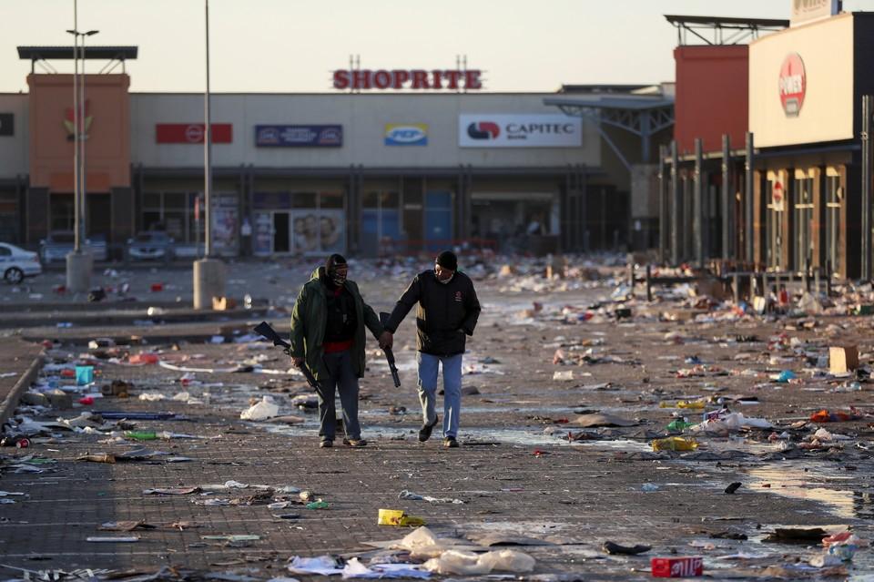 Власти ЮАР сообщили о подготовке госпереворота в стране