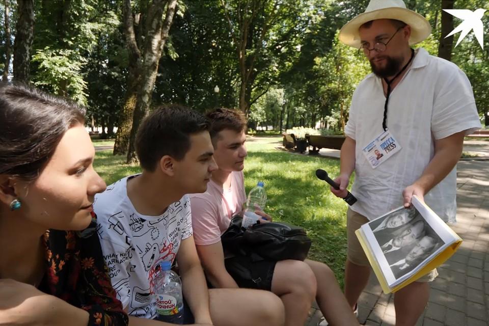 В этот раз «Комсомолка» отправилась в парк Янки Купалы.