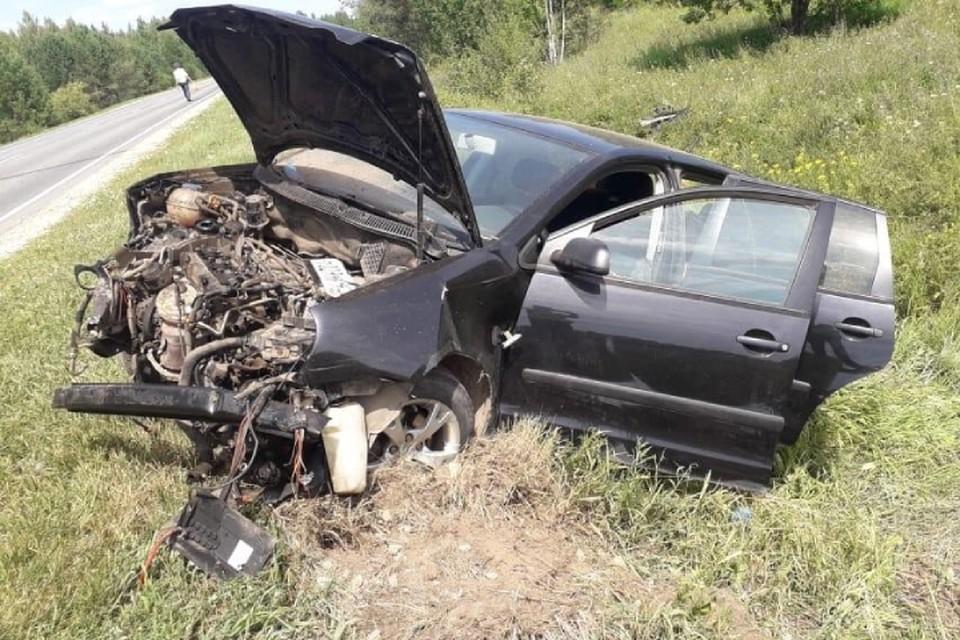 Авария произошла на 235 километре трассы «Киров-Малмыж-Вятские Поляны». Фото: vk.com/gibdd43