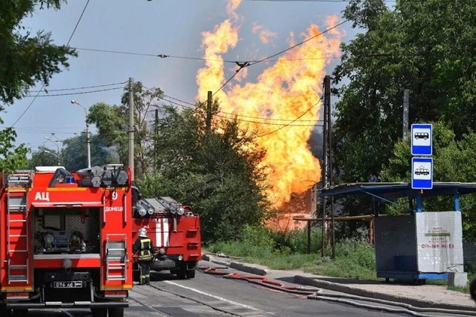 В Донецке произошел взрыв. Фото: ДАН