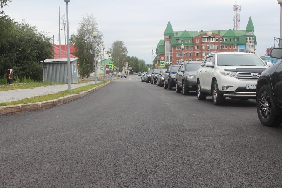 В Ханты-Мансийске состоялась приемка дороги по улице Гагарина Фото: Городской информационный центр