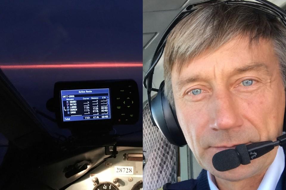 Посадивший самолет Анатолий Прытков с юности в авиации. Фото: соцсети