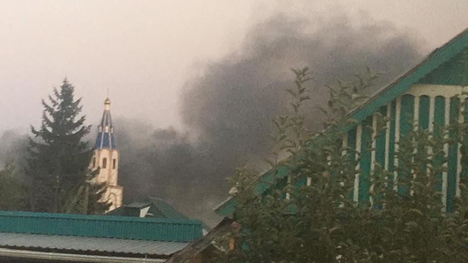 Что произошло за ночь 17 июля: На Кубани сгорело общежитие при монастыре