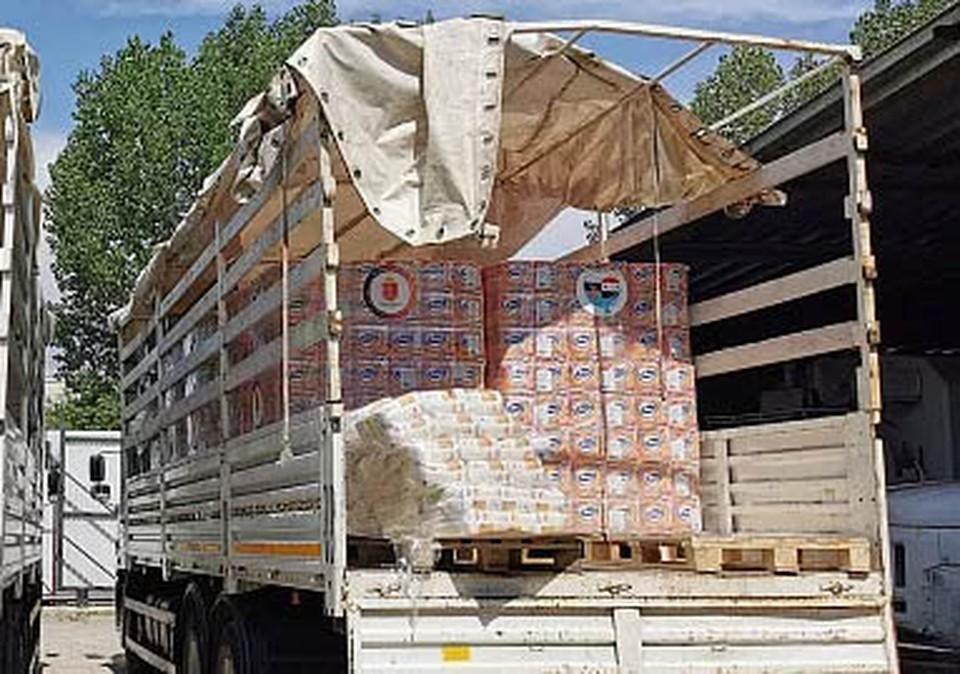 Туляки оказали гуманитарную помощь Сирии