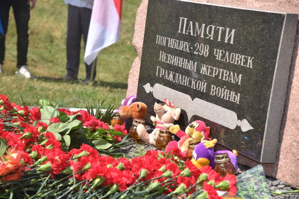 "В результате крушения ""Боинга"" погибло 298 человек. Фото:denis-pushilin.ru/"