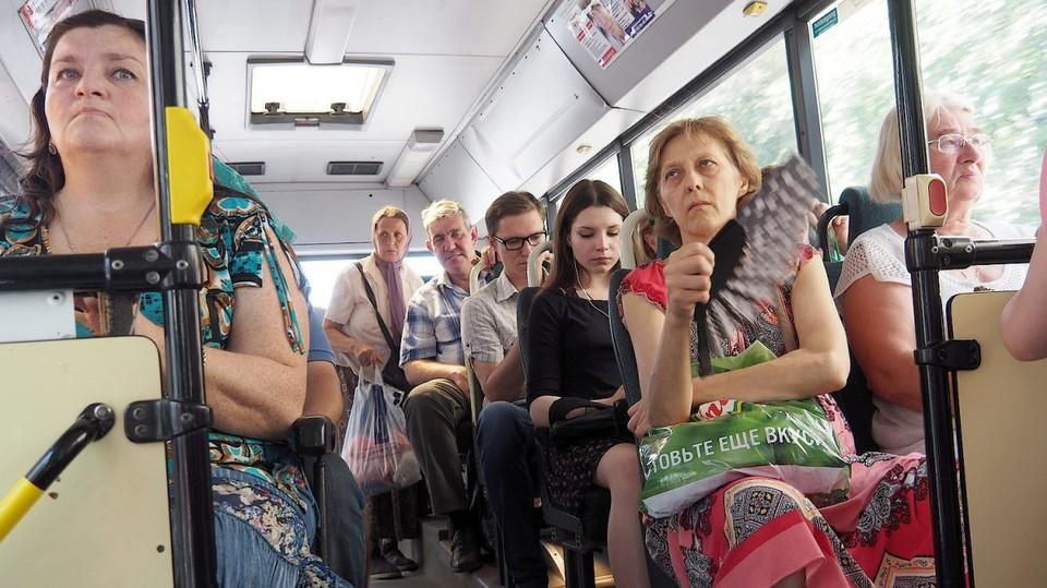 Ехать в раскаленном транспорте не только не комфортно, но и вредно для здоровья