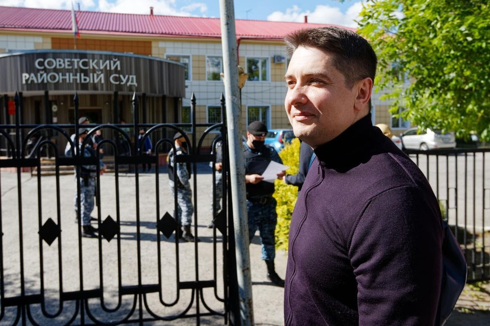 Адвокат Андрей Гривцов. Фото: Валерий Доронин.