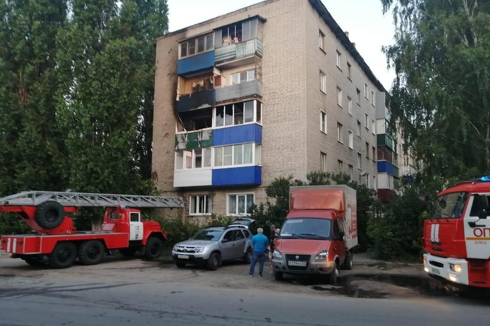в пожаре в Ельце погибли две маленькие девочки
