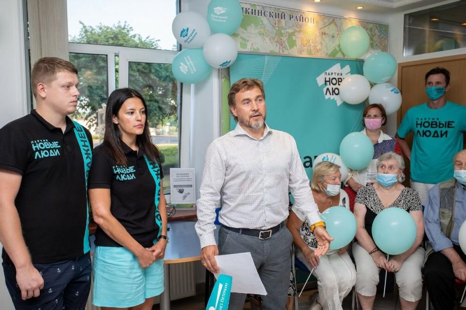 Зампред «Новых людей» Александр Даванков уверен, что политика должна быть благородным занятием.Фото предоставлено пресс-службой партии «Новые люди».