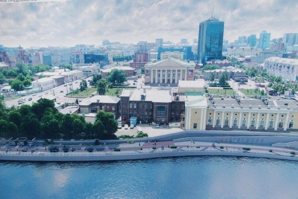 Горожане изнывают из-за недостатка мест для отдыха, набережную будут строить еще месяц. Иллюстрация: администрация Челябинска