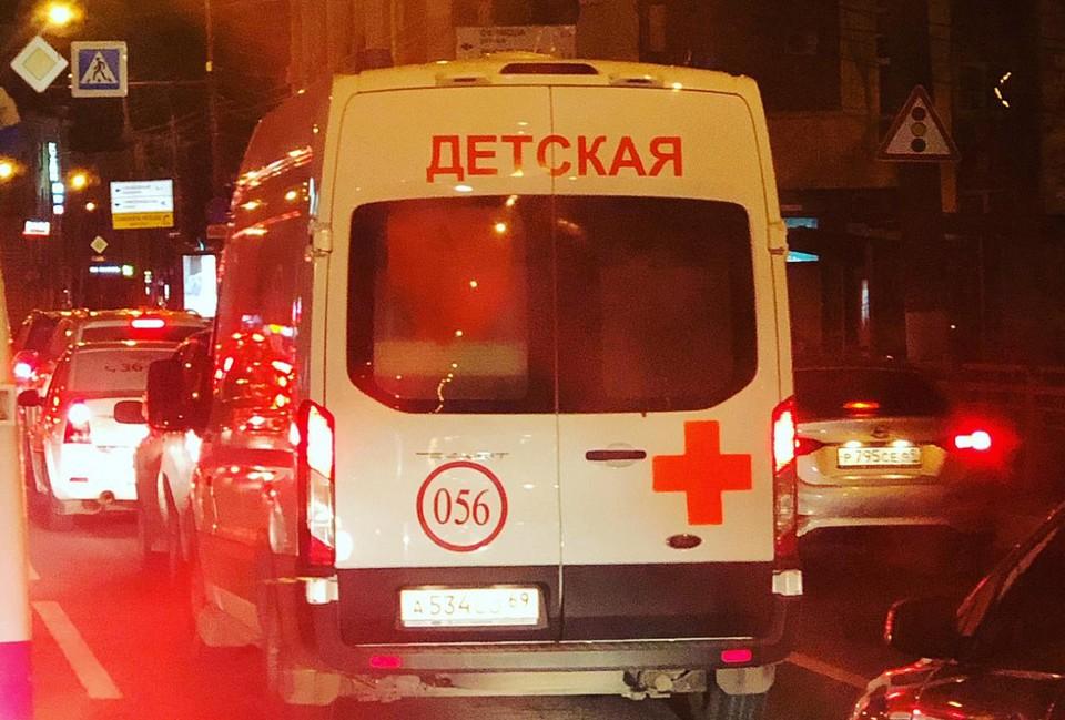 Ребенка с ожогами доставили в больницу Фото: областной минздрав