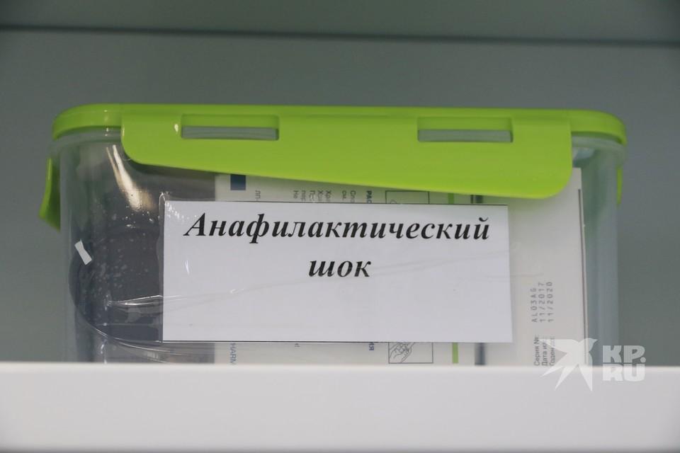 Медицинский комплект для предотвращения анафилактического шока в сельском фельдшерско-акушерском пункте.