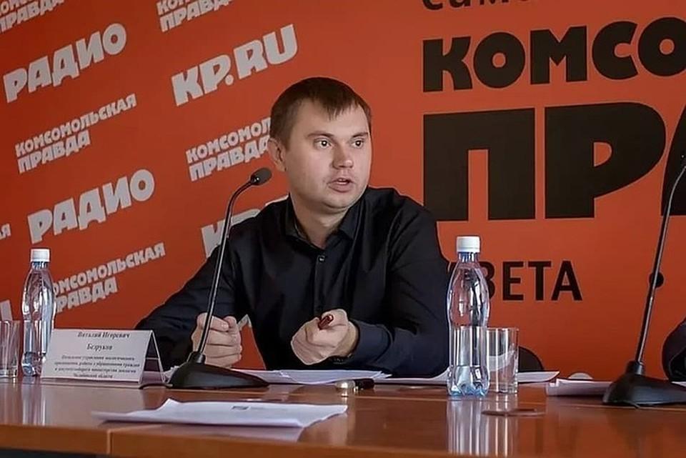 В министерстве Виталий Безруков регулярно давал СМИ комментарии об экологической обстановке в регионе. Фото: архив КП