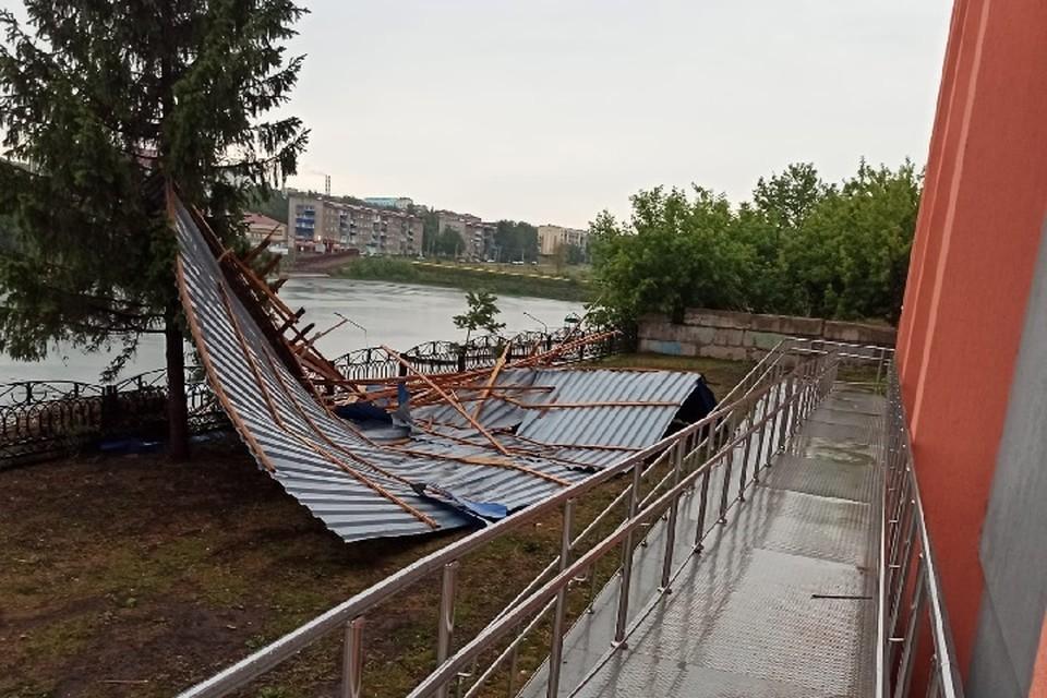 20 июля из-за сильного ветра, грозы, ливня и града в республике было объявлено штормовое предупреждение.