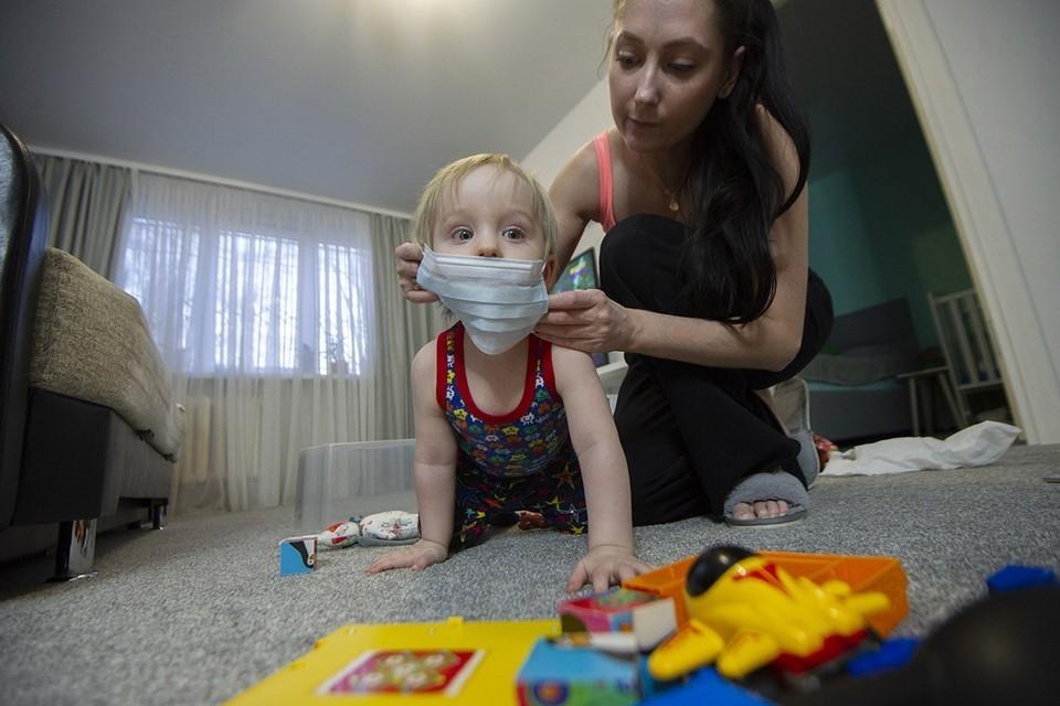 Дети стали чаще болеть коронавирусом.