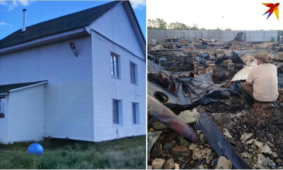 На месте просторного и полного радости дома Ибрагимовых осталось пепелище.