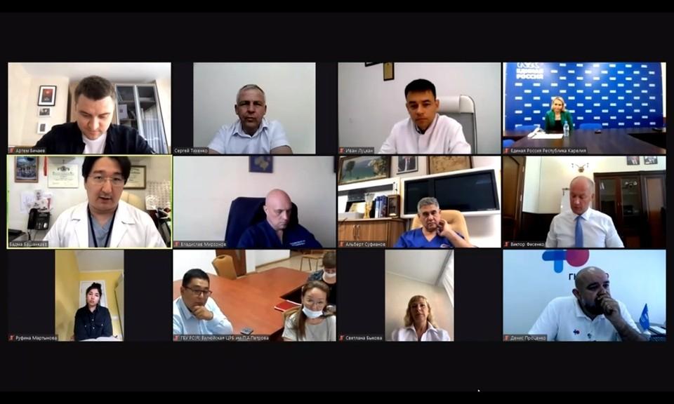 «Консилиум с Денисом Проценко» — это серия видеоконференций с экспертами в сфере здравоохранения